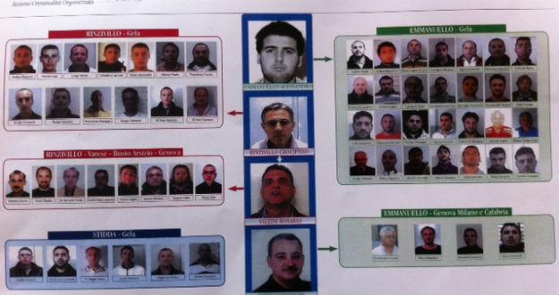 Mafia, 9 condanne definitive a Gela: la polizia li porta in carcere
