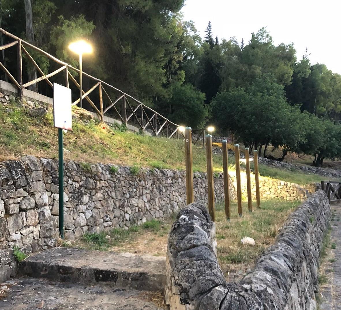 Modica, teatro d'estate nell'area attrezzata di San Giuseppe Timpuni