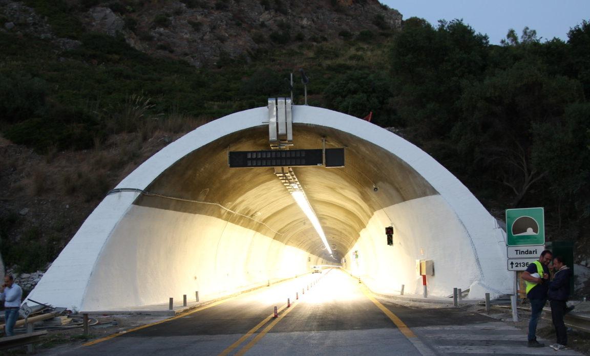 Autostrade, sulla A20 riaperte le gallerie Capo d'Orlando e Tindari