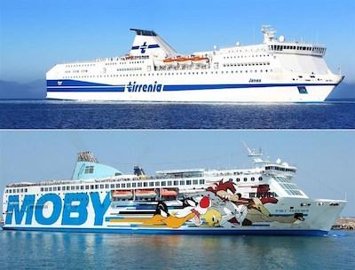 Tirrenia: nuova tratta navi merci Livorno-Cagliari-Palermo