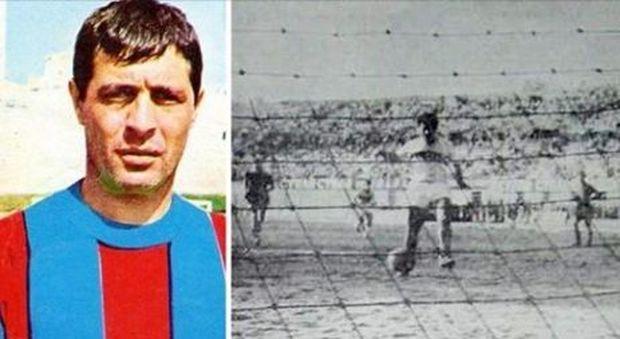 Morto goleador del Catania Calvanese , fu protagonista di 'clamoroso al Cibali'