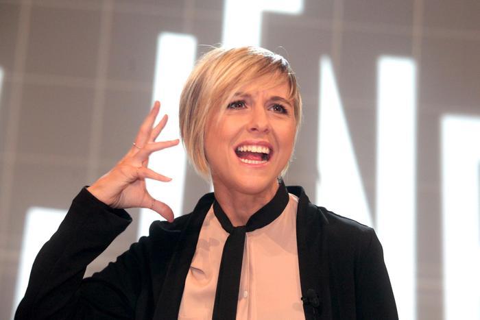 Nadia Toffa al San Raffaele di Milano,
