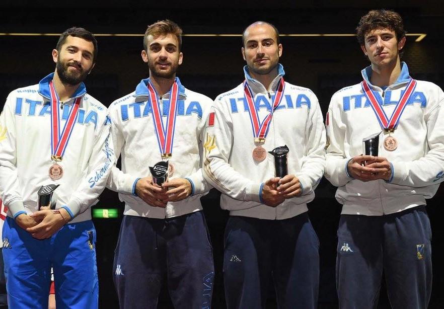 L'Italia medaglia di bronzo a Tokyo nella prova a squadre