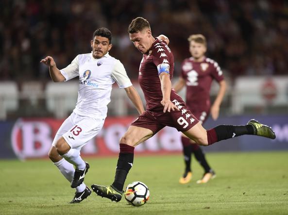 Il Trapani affonda contro il Torino e incassa 7 gol: doppietta di Belotti