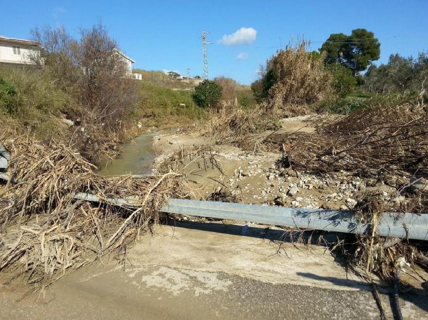 Via libera della Regione alla messa in sicurezza del torrente Baiata a Sciacca
