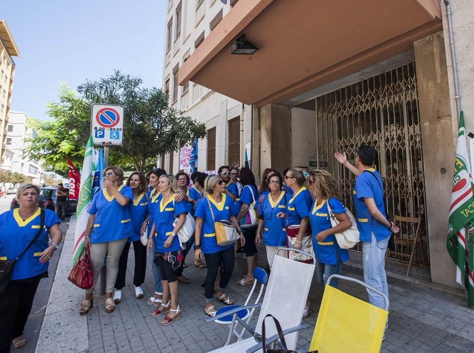 Trapani, 65 ausiliari ospedalieri rischiano il lavoro dall'1 settembre