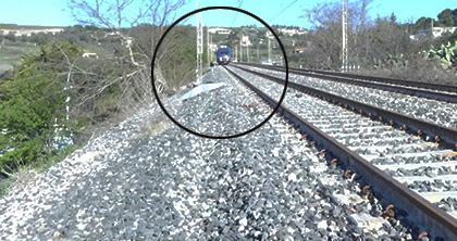 Uomo sui binari travolto e ucciso da un treno all'uscita di Canicattì