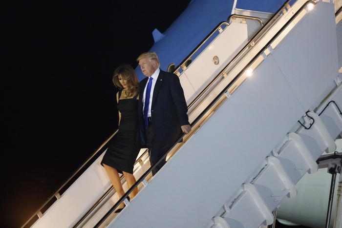 Donald Trump è a Taormina, al via il G7 dell'Italia