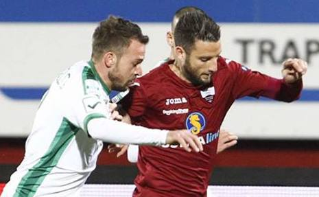 Al Trapani non basta una sola occasione di Coronado: con l'Avellino è 0 a 0