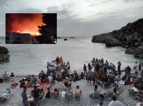 Emergenza finita a San Vito Lo Capo dopo le fiamme a Calampiso