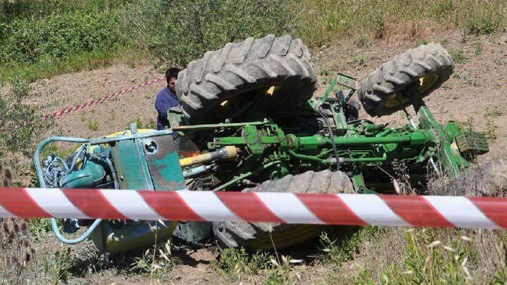 Contadino muore a San Biagio Platani schiacciato dal suo trattore