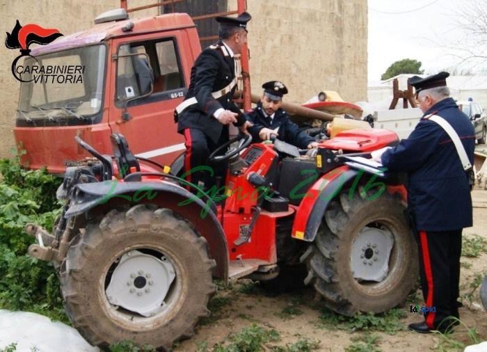 Nel Vittoriese, recuperata refurtiva di beni agricoli per oltre 40.000 euro