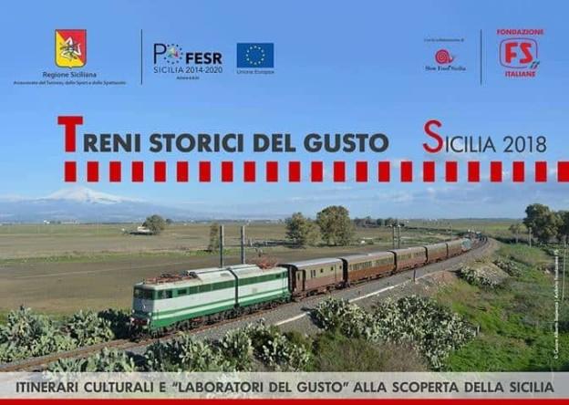 Treni storici del gusto, domenica 2 giugno una tappa ad Alcamo
