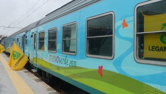 Al via da Catania lo storico treno ambientalista di Legambiente