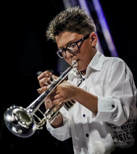 Musica: il trombettista 12enne Castiglia al Brass di Palermo