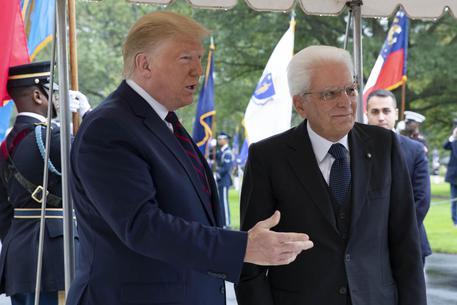 Mattarella negli Usa da Trump, tensione sui dazi