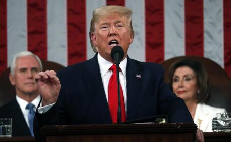 """Trump: """"Usa mai così forti e rispettati, il bello deve ancora venire"""""""