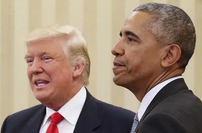 Obama e Trump a colloquio per 90 minuti nella stanza ovale
