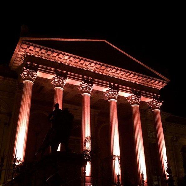 Tumori: il Teatro Massimo di Palermo si illumina di rosa