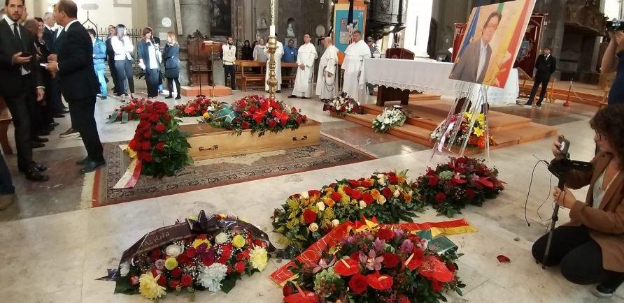 Palermo, celebrati i funerali dell'ex assessore ai Beni culturali Tusa