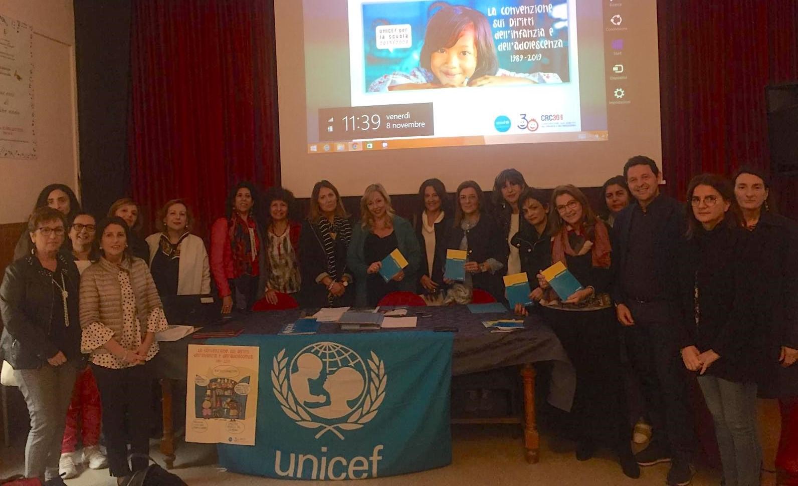 """Ragusa, presentato il progetto Unicef-Miur """"Scuola Amica"""""""