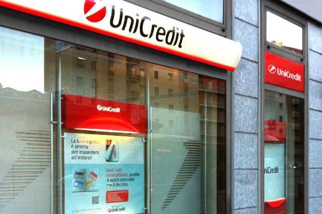 Il 23 novembre apre a Comiso una filiale di Unicredit