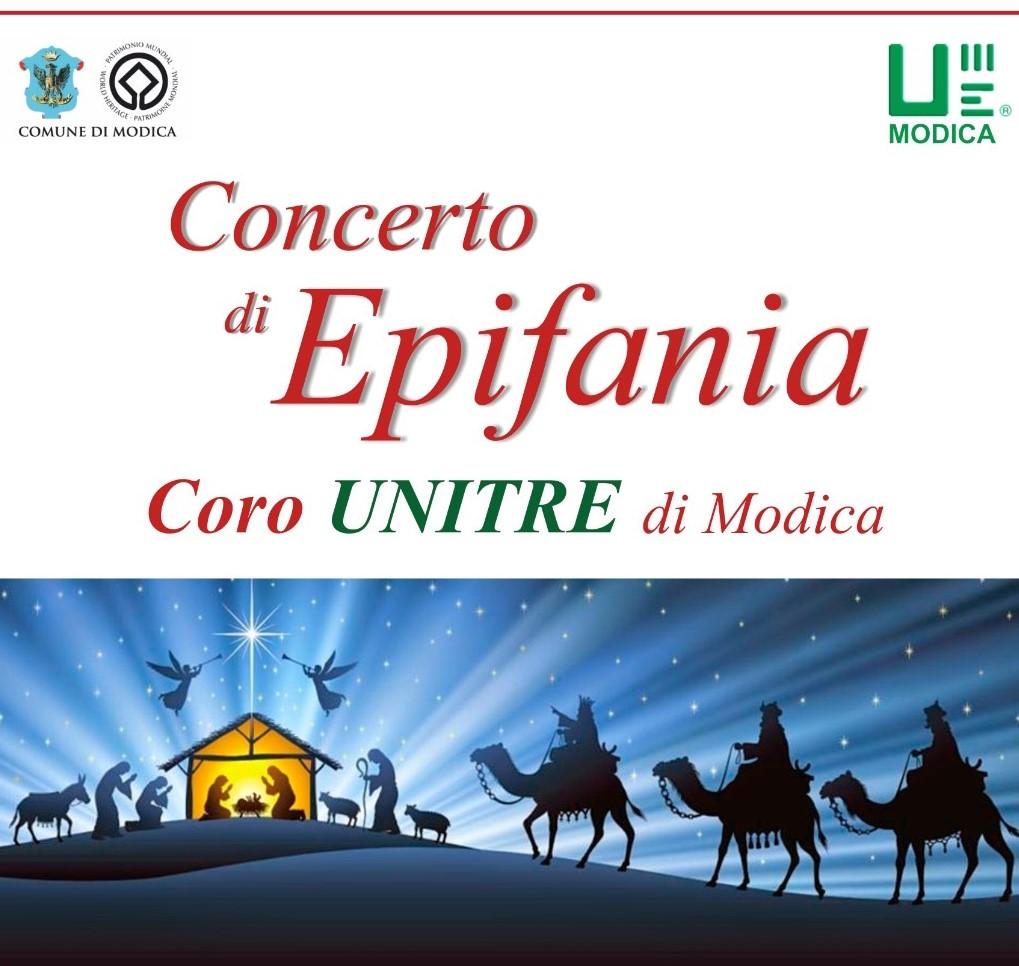 Modica, nella chiesa di San Domenico concerto dell'Unitre il 6 gennaio