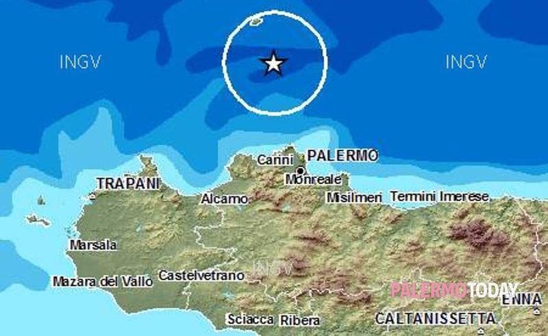 Scossa di terremoto a Ustica all'ora del pranzo: niente danni