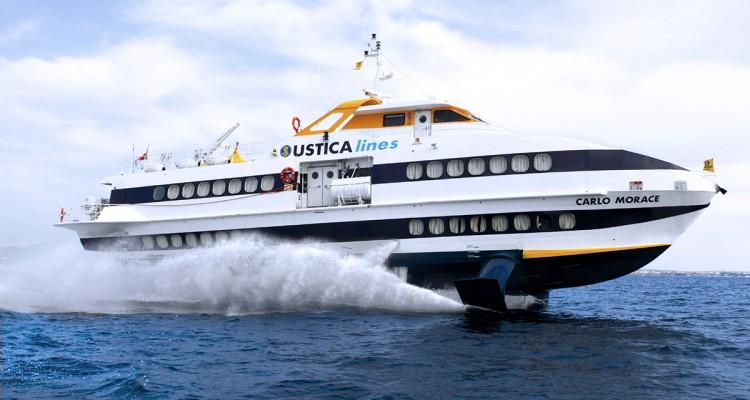 Maltempo, sospese le tratte per le Isole Egadi, Eolie e Ustica