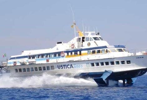 Dal 21 marzo riparte il collegamento veloce Palermo-Ustica