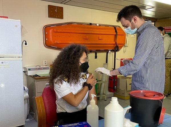 Vaccini, somministrate oltre 100 dosi a personale marittimo Catania