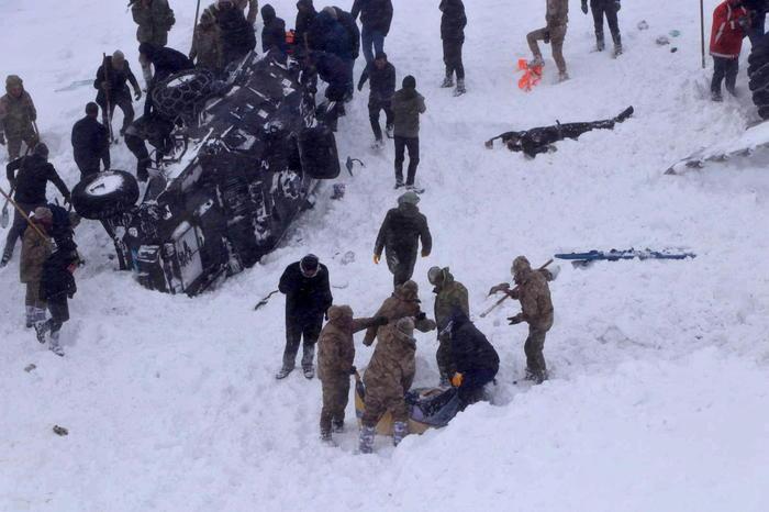 Valanghe in Turchia, drammatico bilancio in due giorni: 39 morti