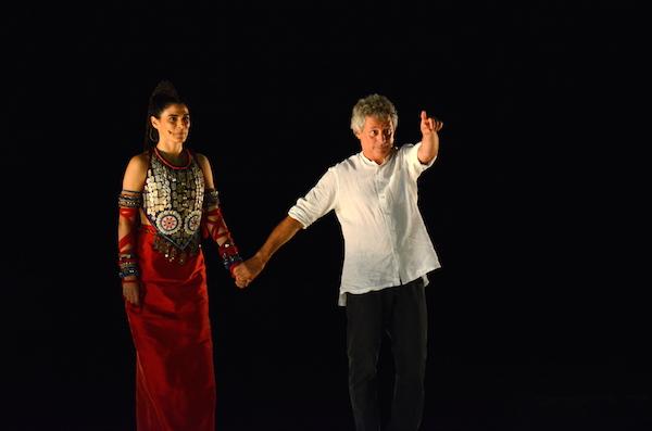 Siracusa, teatro greco: la storia di Palamede con Baricco e la Solarino