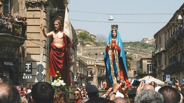 Modica, domenica di Pasqua con il centro cittadino chiuso al traffico