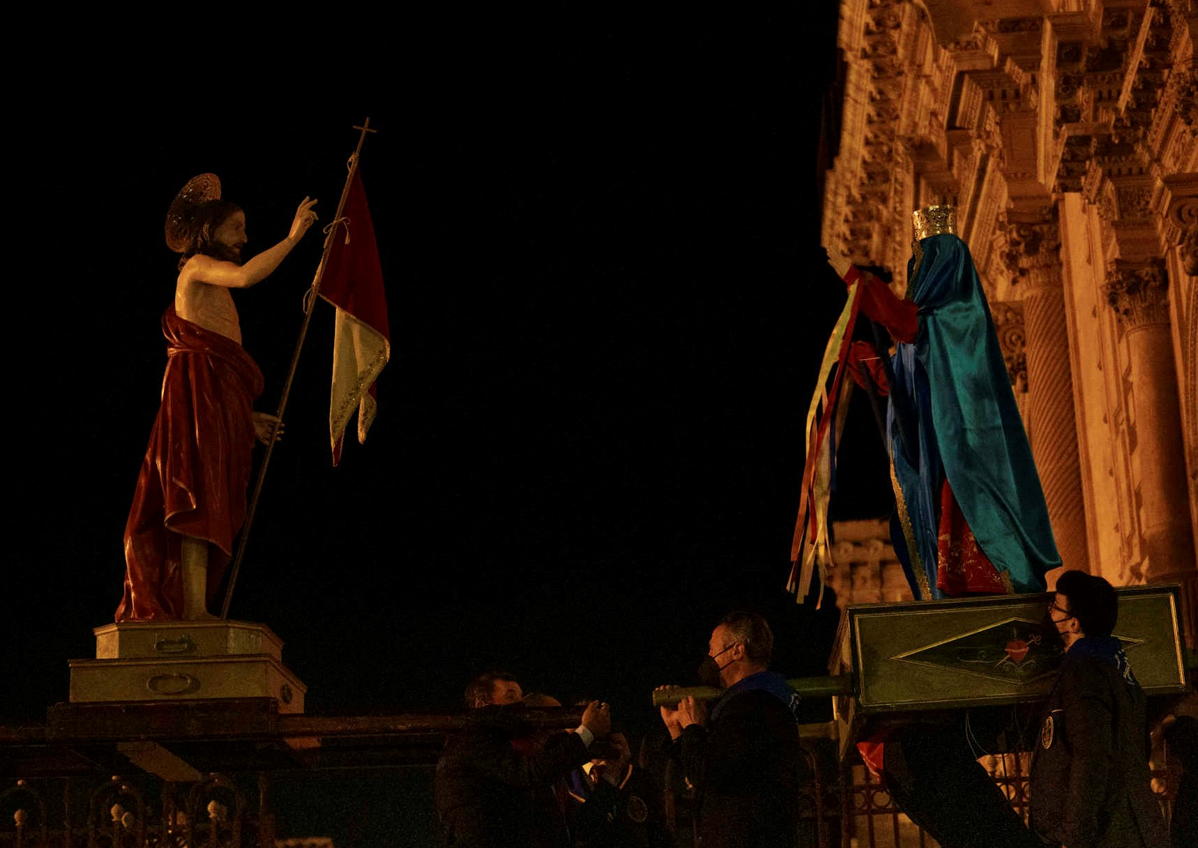 "Modica: Madonna vasa vasa ""segreta"": performance notturna dell'artista Adrian Paci"