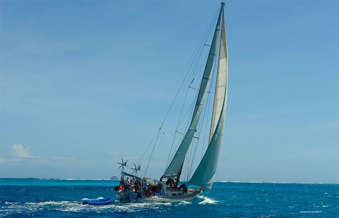 Da Otranto a Catania, il viaggio in vela dei ragazzi speciali