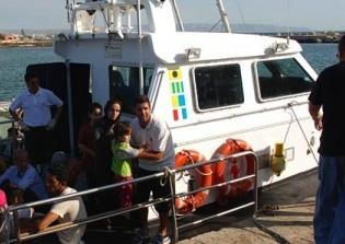 Mini sbarco di migranti nella notte nell'isolotto di Vendicari