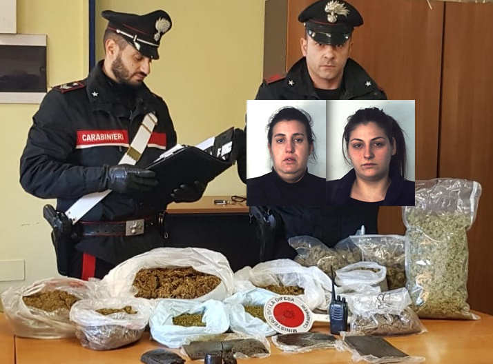 Catania, a 4 anni aiuta mamma e nonna a nascondere, 8,5 chili di droga