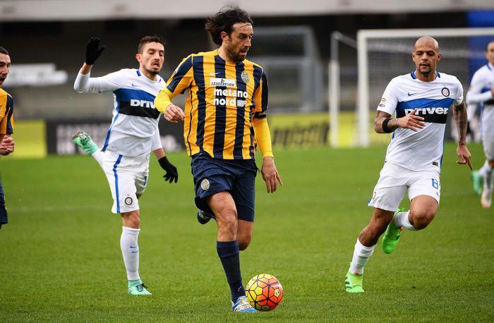 L'Inter non sa più vincere: rimonta due volte a Verona ( 3 - 3)
