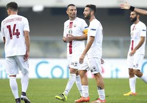Buon Trapani solo in avvio poi incassa un gol per tempo dalla corazzata Verona