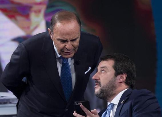 Pd e Italia Viva contro la Rai, uno spot per Salvini durante la partita Juventus - Roma