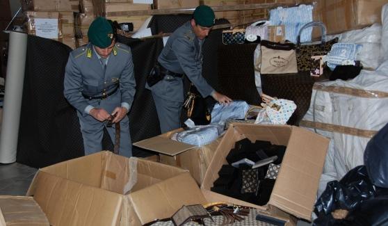 Vestiti contraffatti donati alla Caritas di Barcellona Pozzo di Gotto