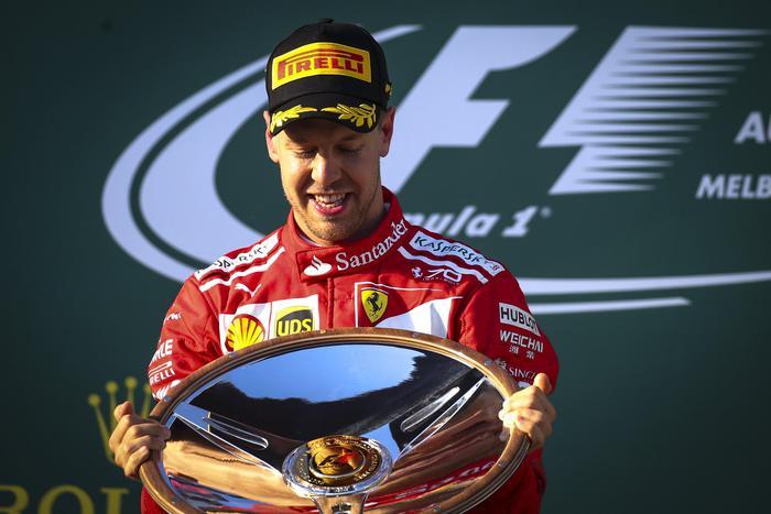 Formula 1, la Ferrari torna a vincere: Vettel sul podio nel Gran Premio d'Australia