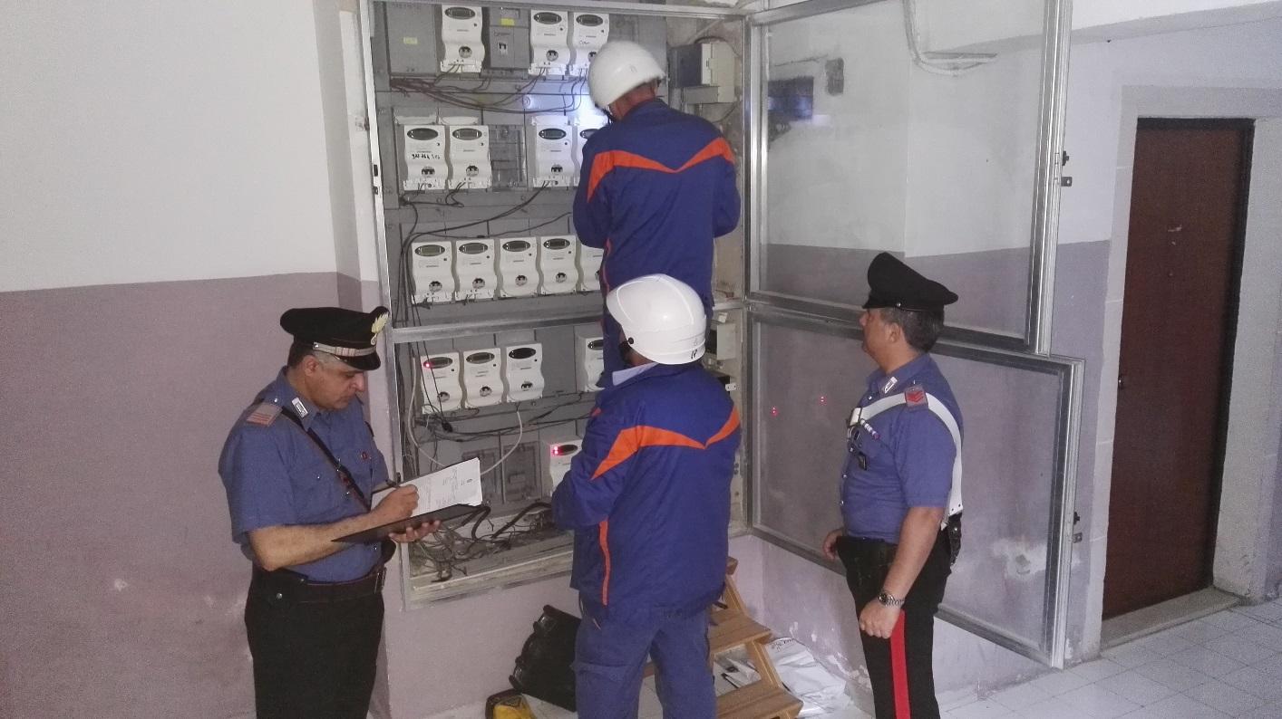 Siracusa, 3 arresti per furto di energia elettrica in via Algeri