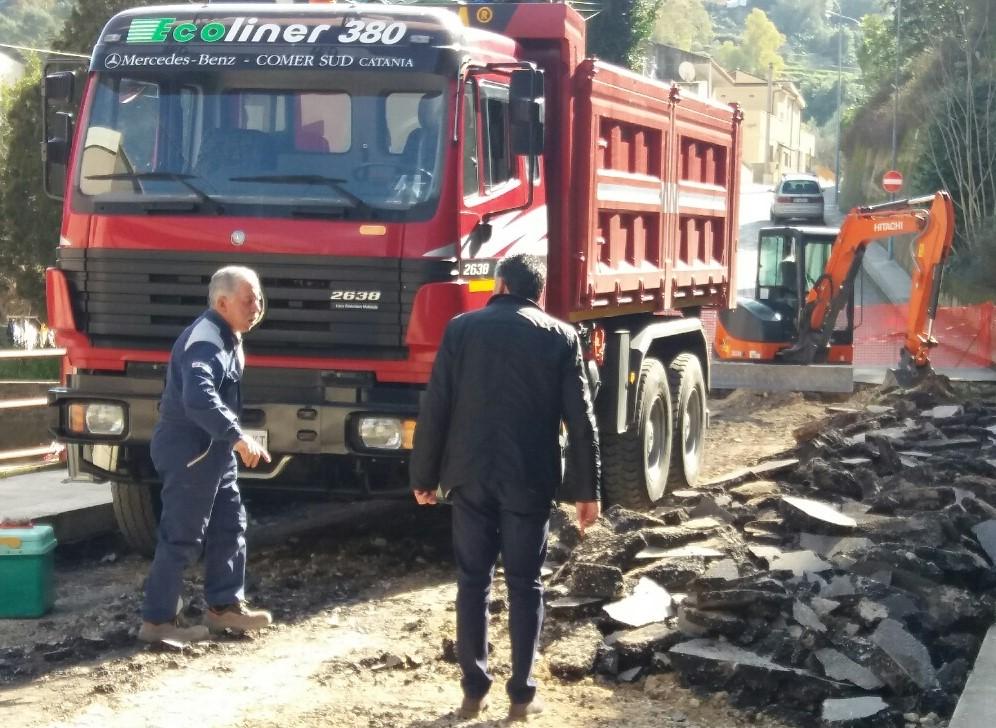 Modica, danni per l'alluvione: entro la settimana sarà riaperta la via Trani