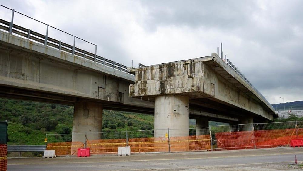 Viadotto Himera sulla Palermo - Catania, per l'Anas i ritardi dovuti al covid-19
