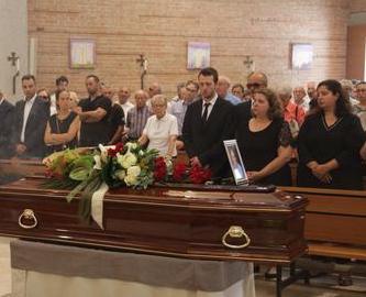 Funerali a Vicenza per l'autotrasportatore di Grotte morto a Genova