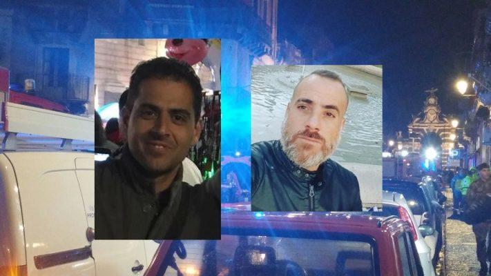 Dario e Giorgio, pompieri morti nell'esplosione di Catania: mercoledì i funerali