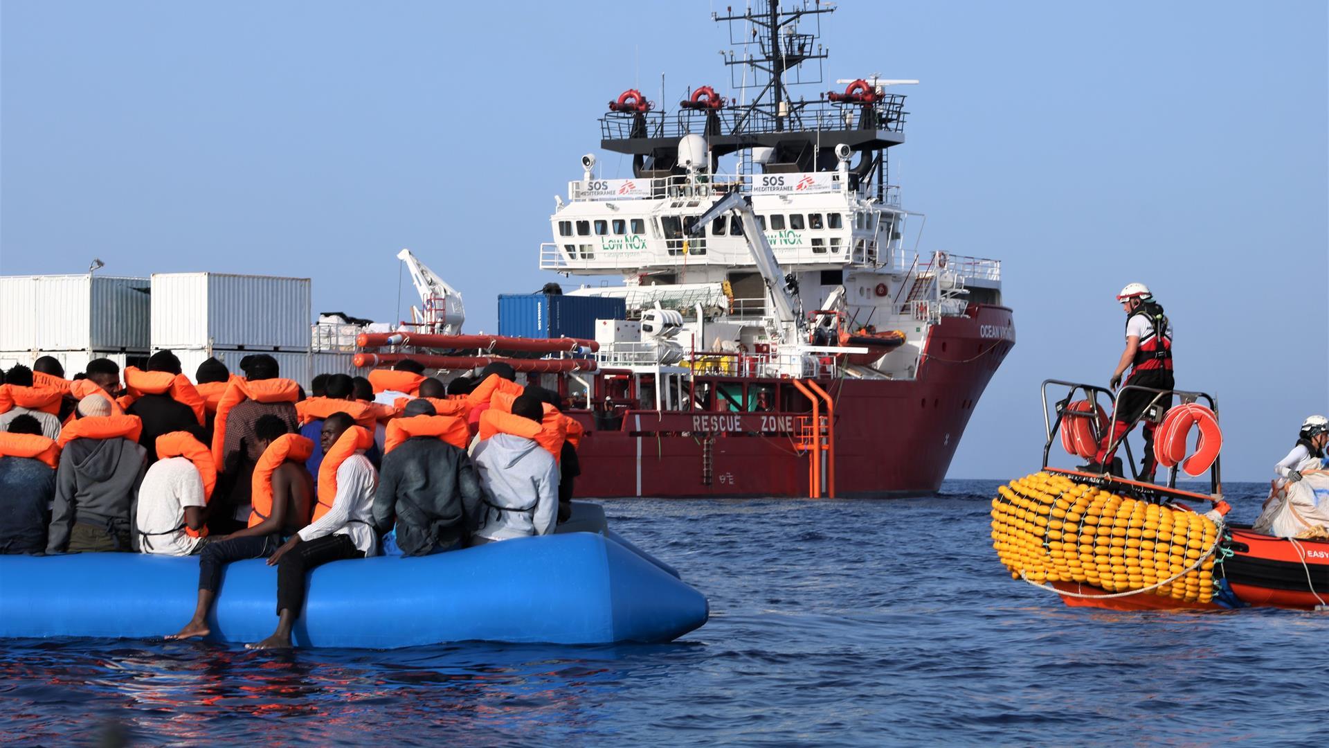 Ocean Viking, è Messina il porto di sbarco migranti