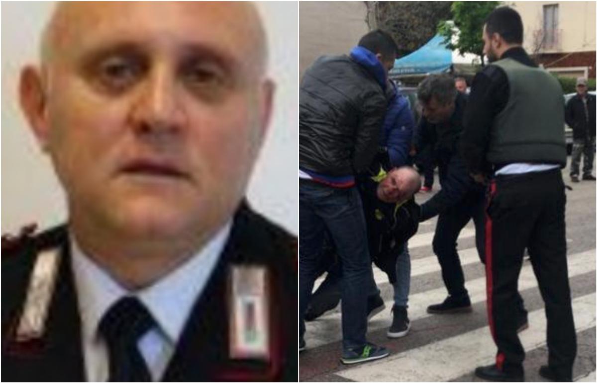 Palermo, un minuto di silenzio per il carabiniere ucciso nel Foggiano